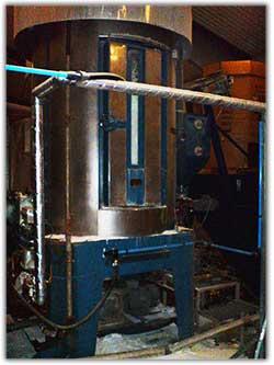 Stor produktionsmaskin